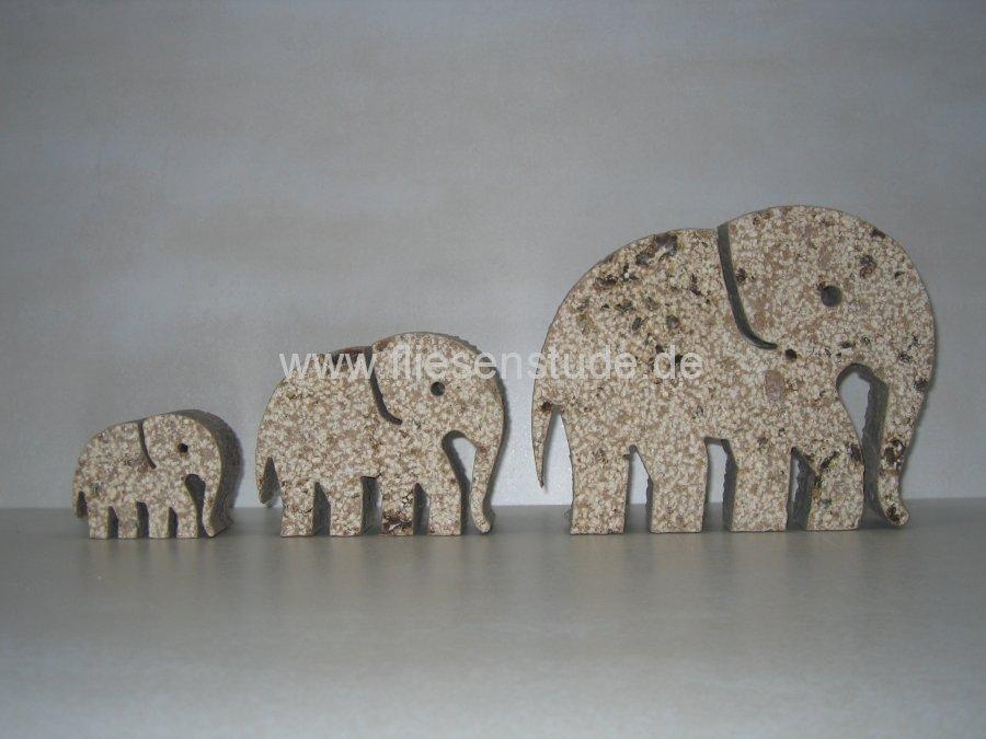 Travertin Elefanten