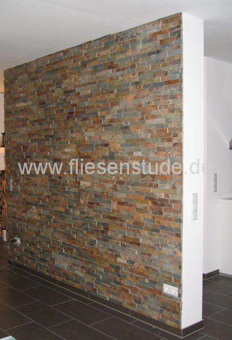 Wand aus Bruchstein
